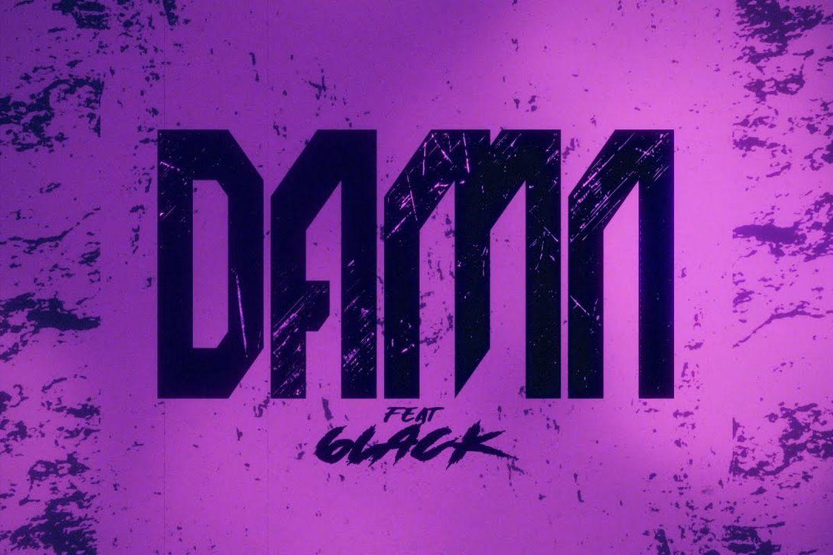 "Omah Lay's ""Damn (Remix)"" artwork"