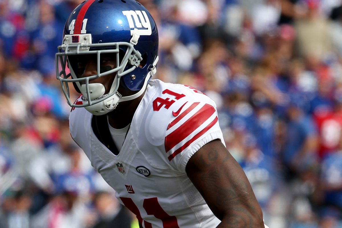 New York Giants CB Dominique Rodgers Cromartie PK Josh Brown to