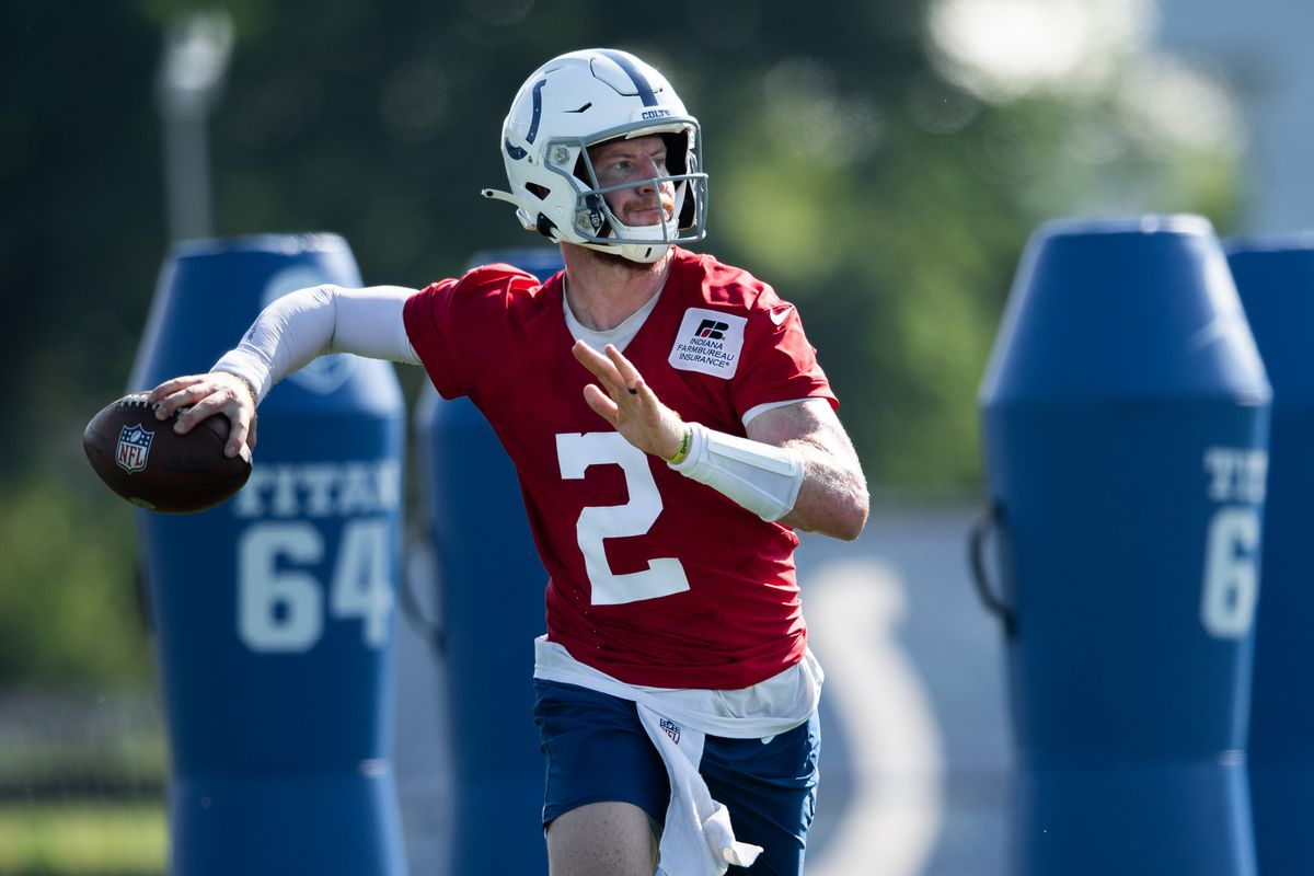 NFL: AUG 24 Indianapolis Colts Training Camp