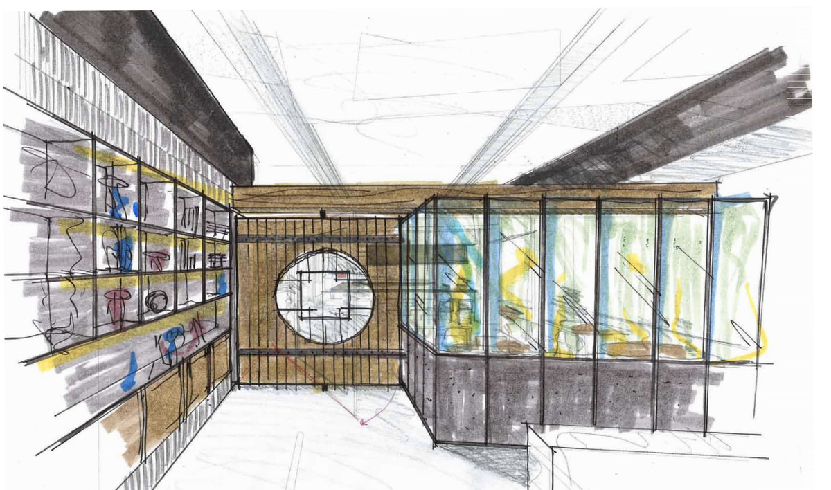 A sketched rendering of the China Live entry gate.