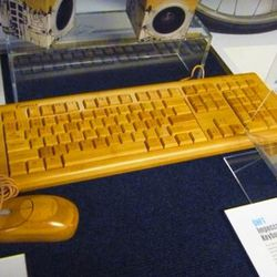 This keyboard does old-meets-new even better than the USB typewriter, and it's only $99.99