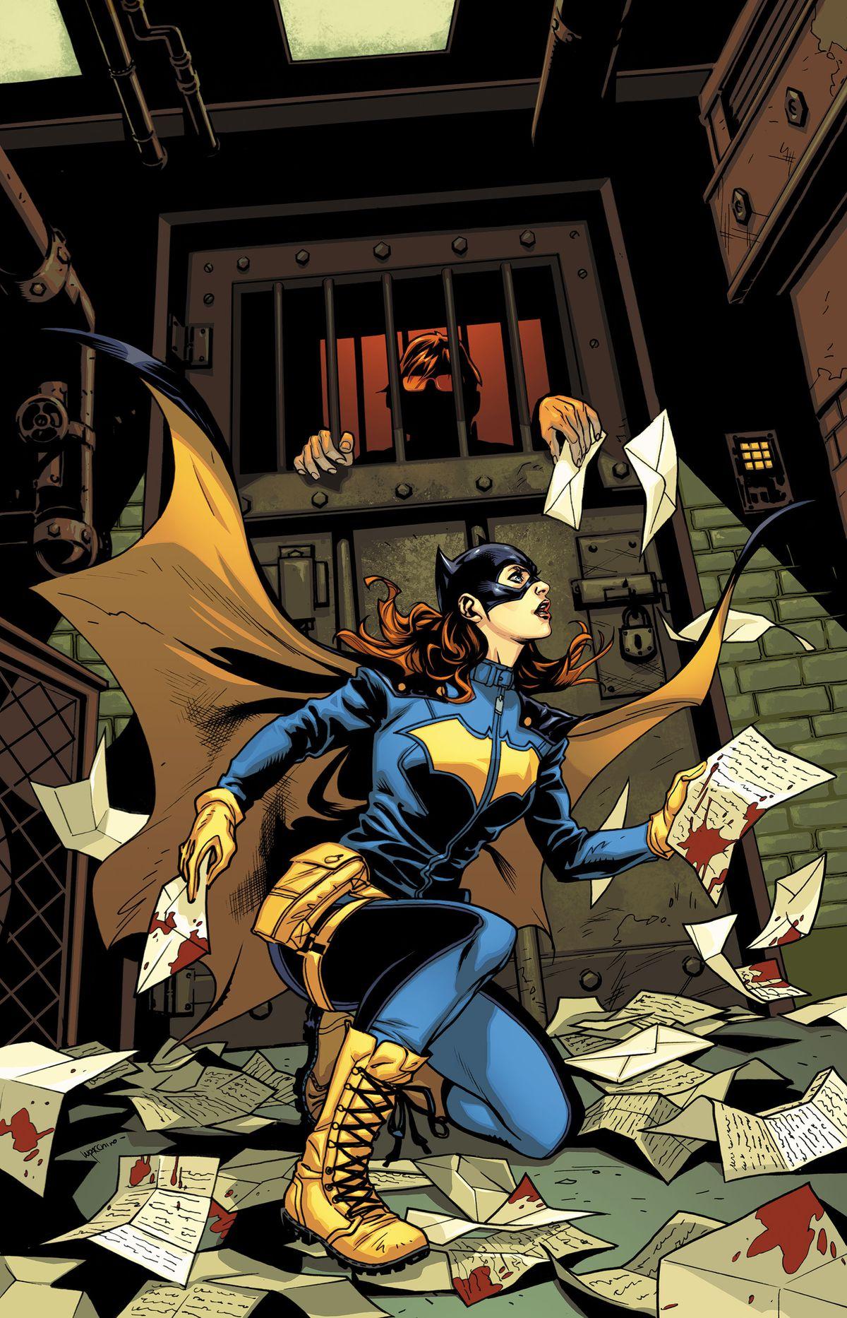 首先看看Batgirl的新服装 - 以及她的新方向