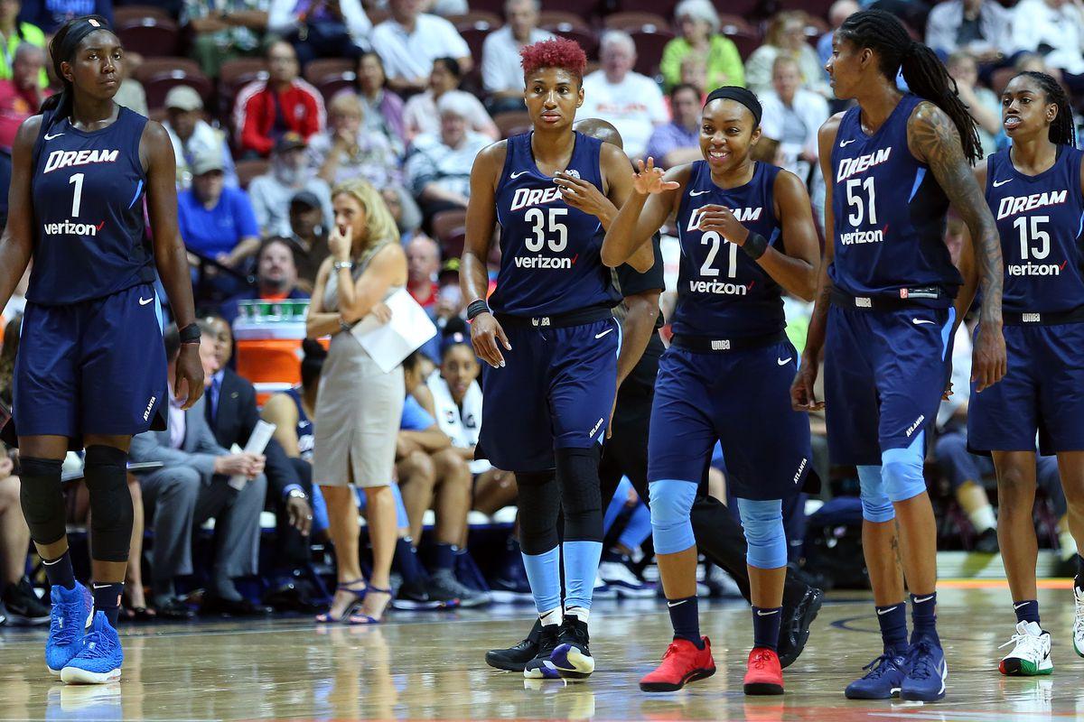 WNBA: JUL 17 Atlanta Dream at Connecticut Sun