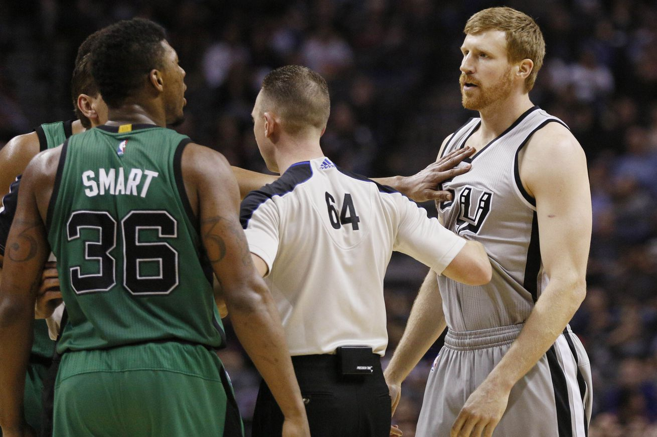 Turns out no one is trying to steal Matt Bonner's nickname