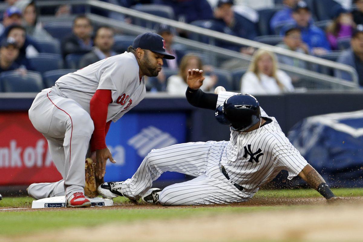 MLB: Boston Red Sox at New York Yankees