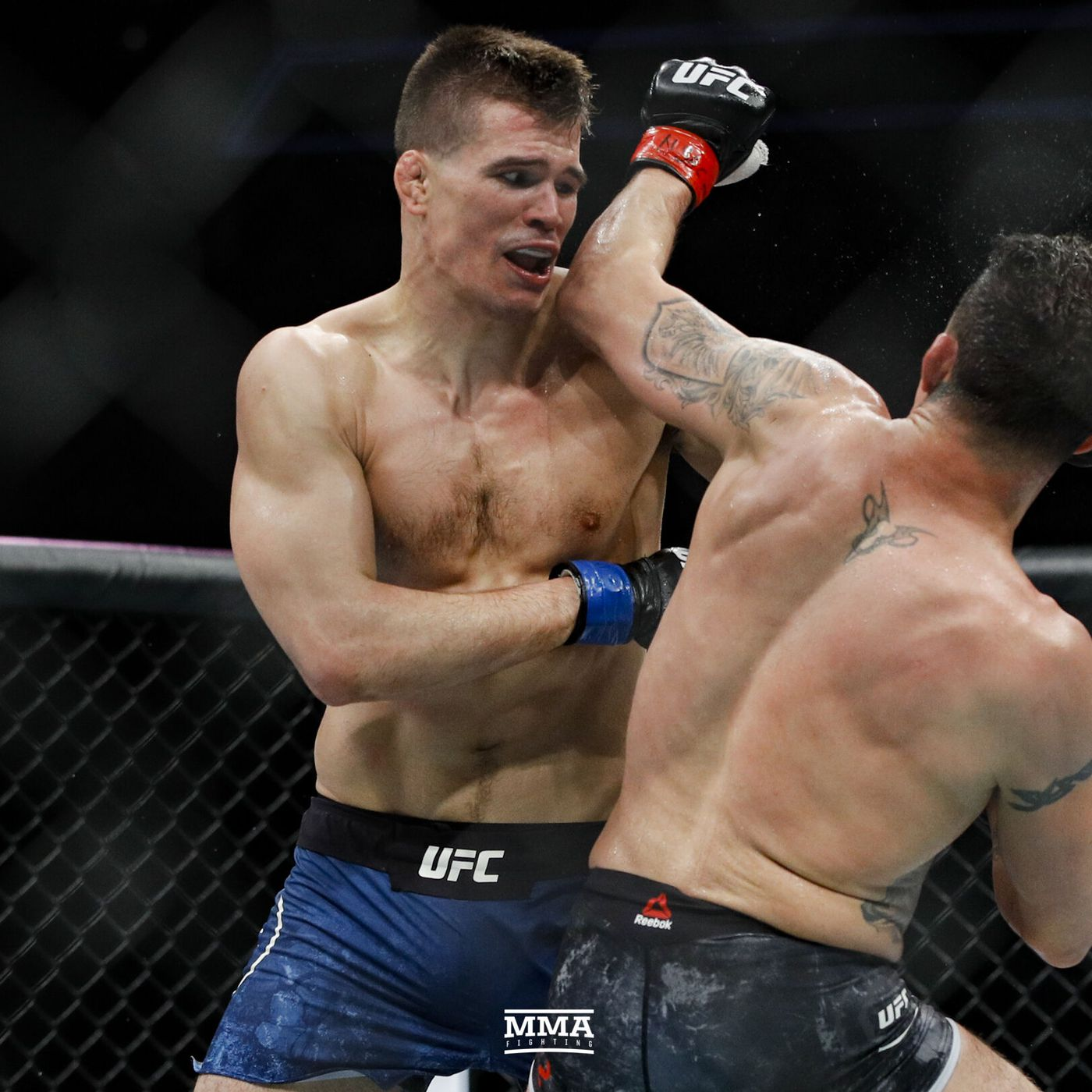 Morning Report: Mickey Gall says he passed out cutting weight for ...