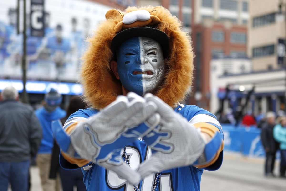 outlet store ba8bb aef5a Shopping with the Enemy: The Lions' Pro Shop embraces ...