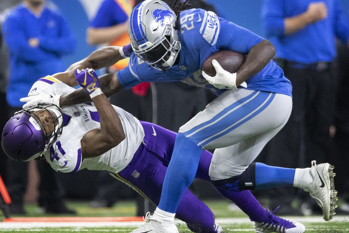 Detroit Lions Vs Minnesota Vikings Preview Breakdown And
