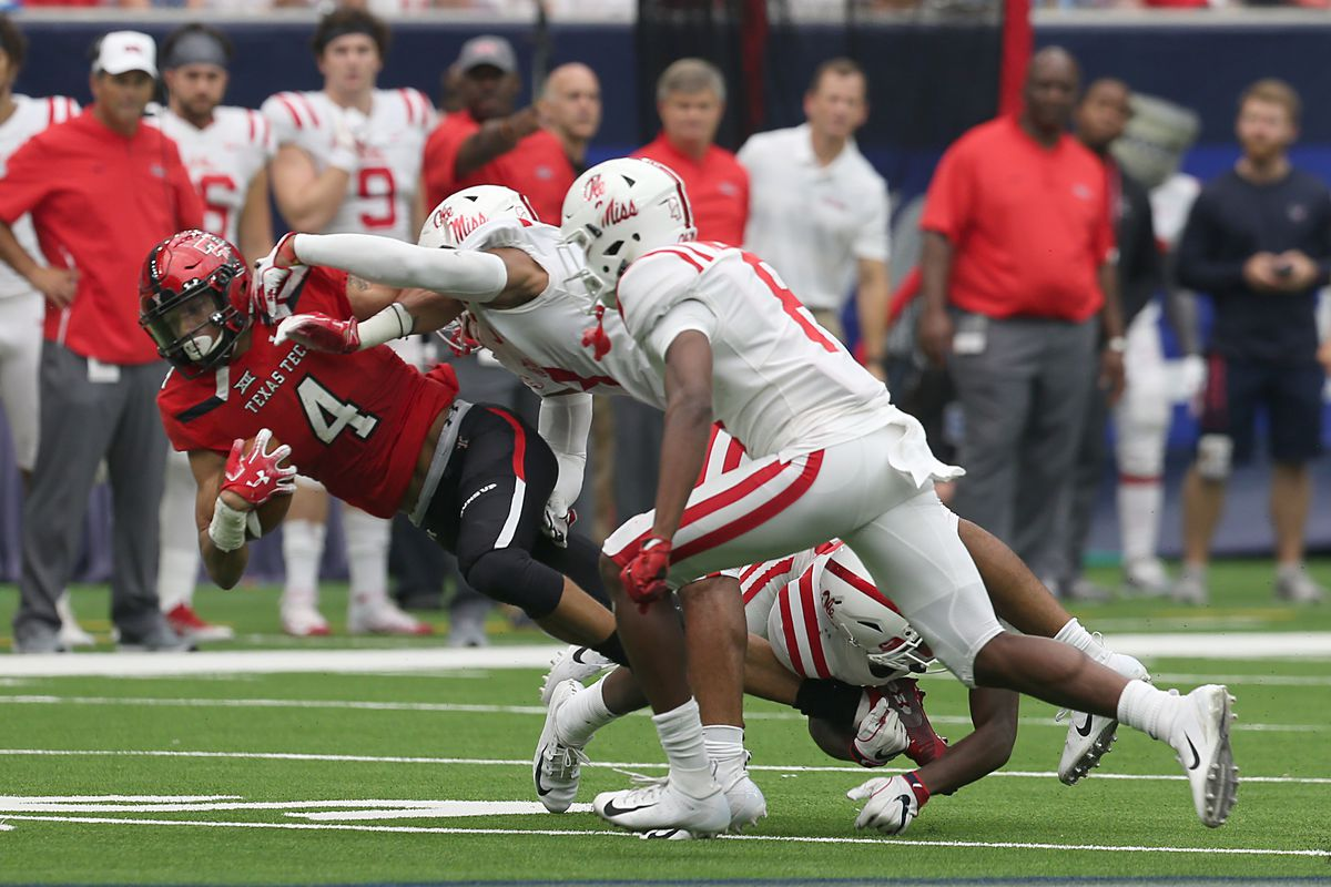Ole Miss Defense Showed Improvement Against Texas Tech Will It Last Red Cup Rebellion