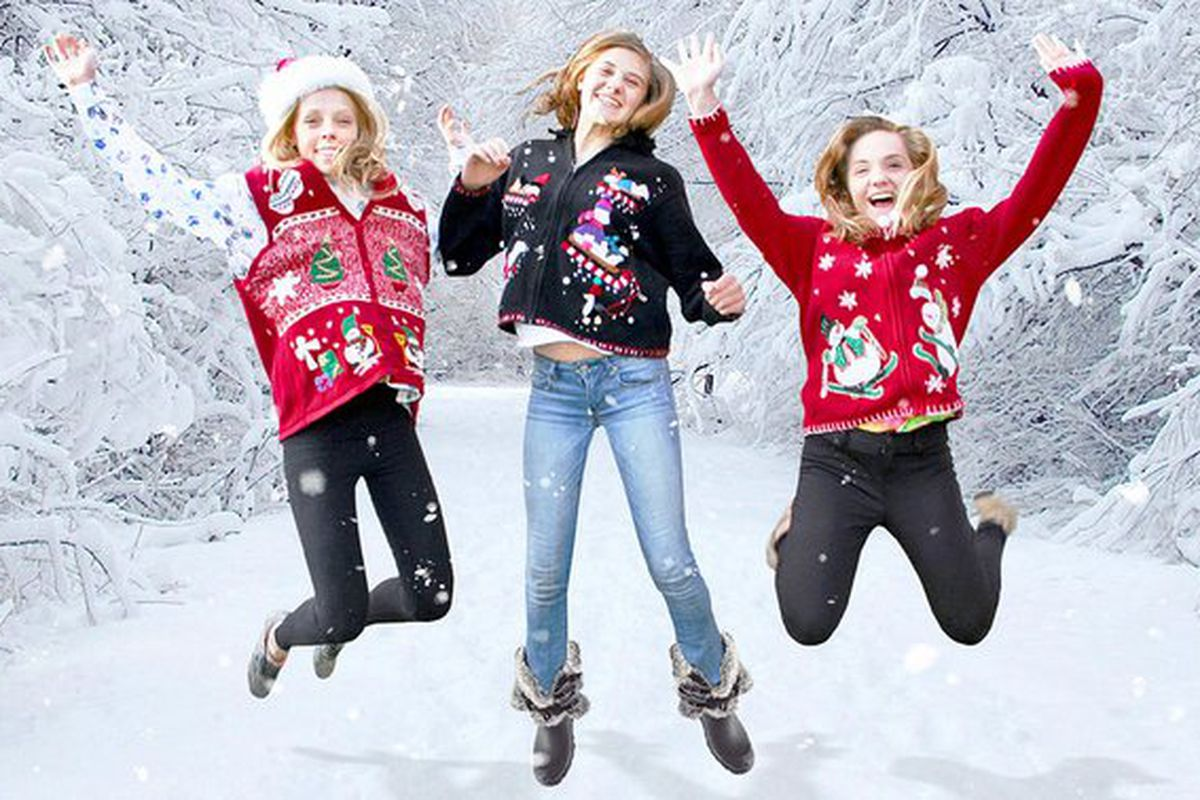 You Are Invited To My Attractive Christmas Sweater Party Funny Or Die
