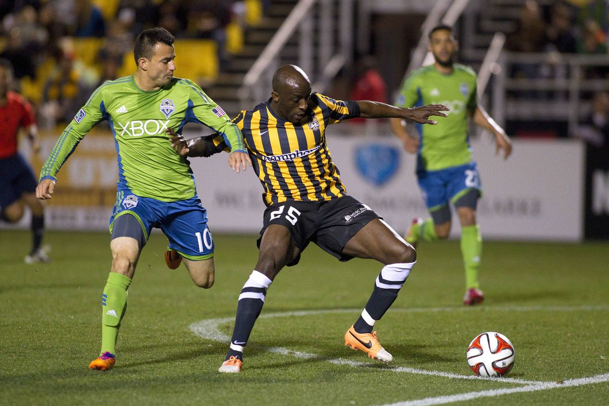 United faces former DCU defender John Wilson and the Charleston Battery tonight.