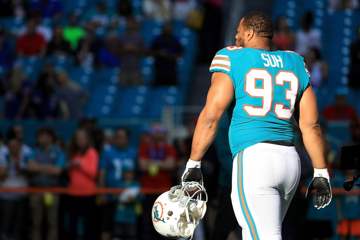 11764ecfead Cancelled: Ndamukong Suh no longer meeting with Raiders per reports ...