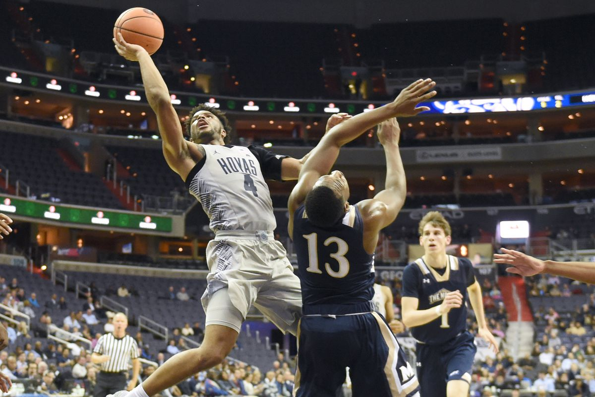 Mount St. Mary's v Georgetown