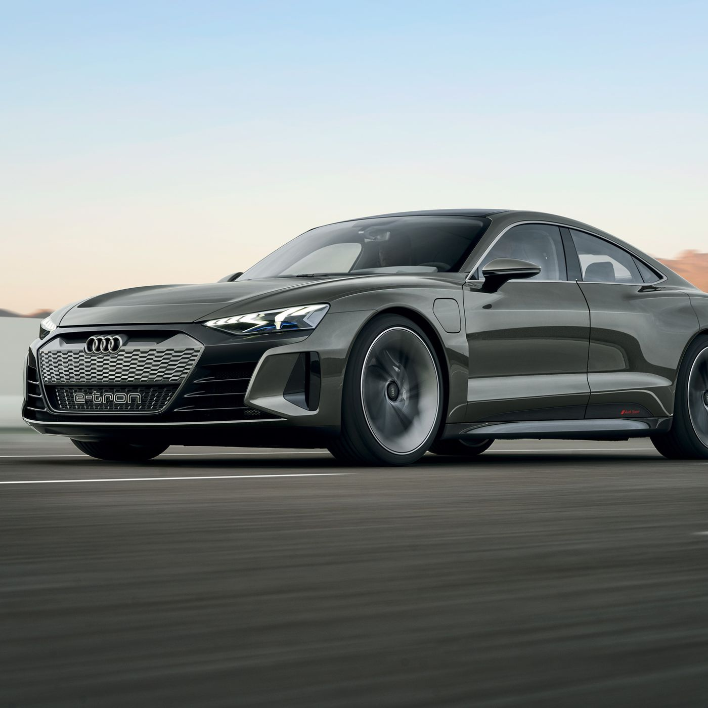 Audi S E Tron Gt Concept Is A 590 Horsepower Electric Sedan Powered By Porsche The Verge