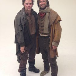 """James Gaisford, left, plays Thomas Dobson and Darin Southam is Ephraim Hanks in T.C. Christensen's forthcoming pioneer film, """"Ephraim's Rescue."""" The movie premieres May 31."""