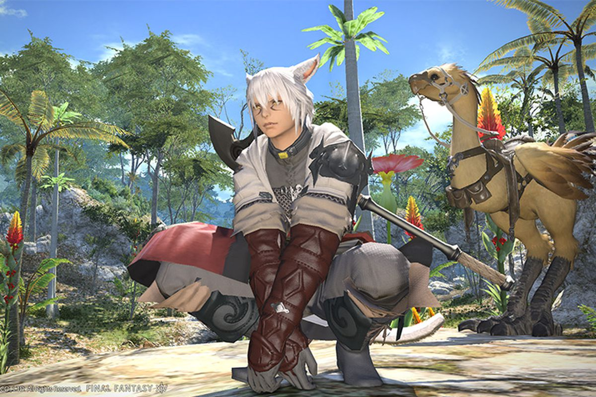 final fantasy 14 free to play ps4