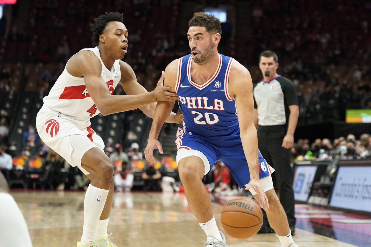 NBA: Preseason-Philadelphia 76ers at Toronto Raptors