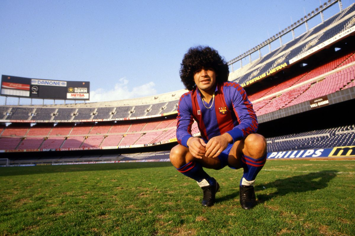Photoshoot Diego Armando Maradona