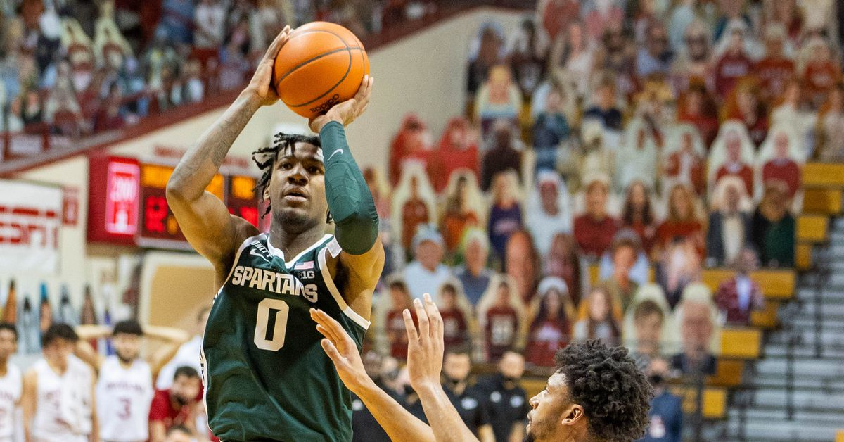 Michigan State Basketball gets big win at Indiana, 78-71 - The Only Colors