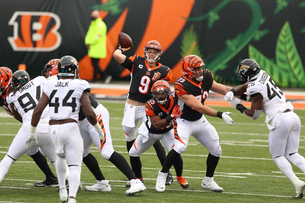 NFL: OCT 04 Jaguars at Bengals