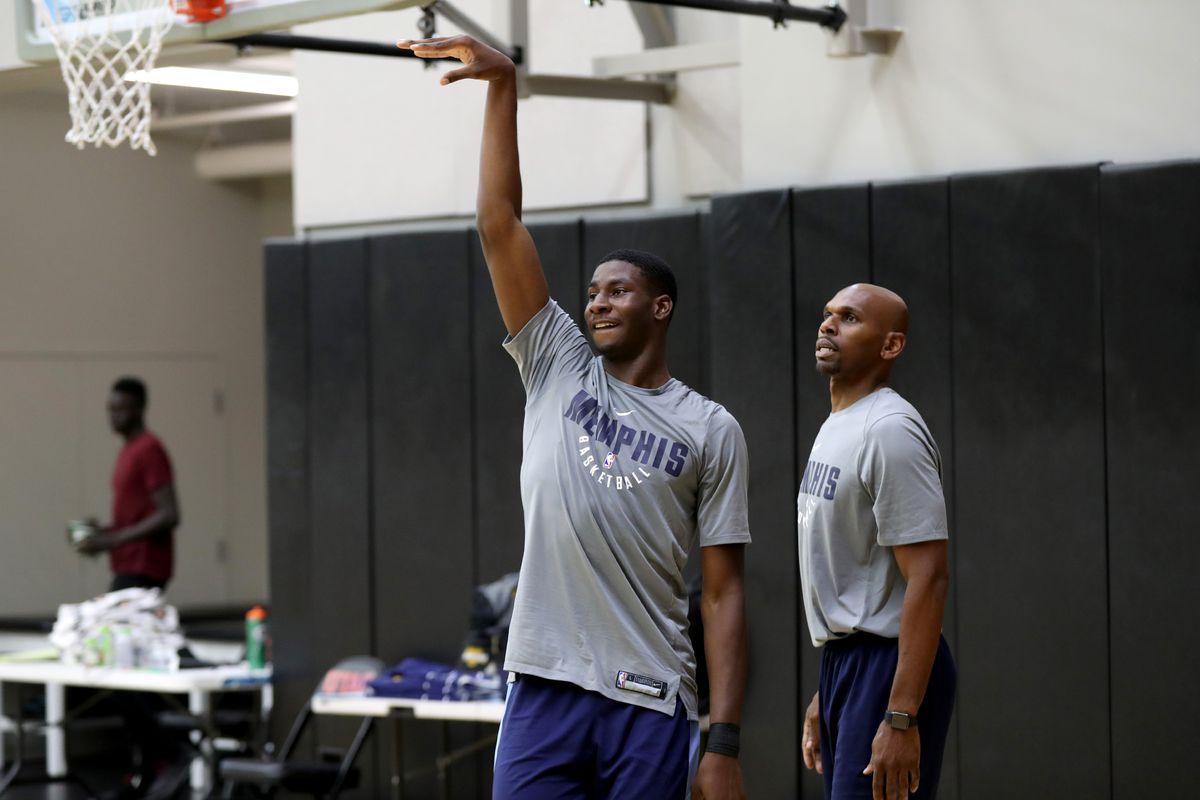 Memphis Grizzlies Practice During 2018 Utah Summer League