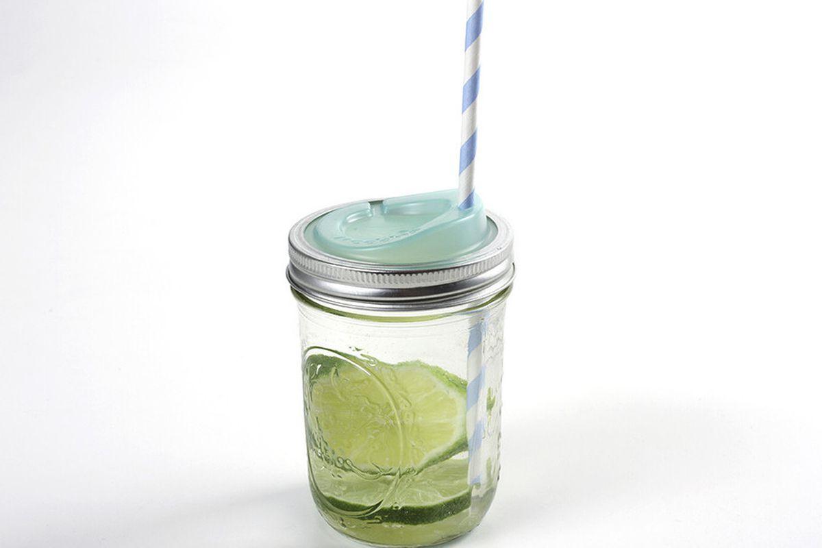 "Cuppow jar drinking lids, <a href=""http://www.cuppow.com/collections/cuppow-jar-drinking-lids"">$8.99</a>"