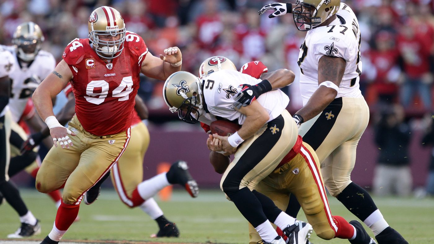 What if NFL officials didn't call roughing the passer on Ahmad Brooks in the 2013 Saints game?