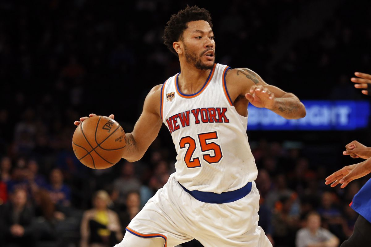 acea3e481ea NBA Free Agency 2017  Bucks Reportedly Meeting with Derrick Rose ...