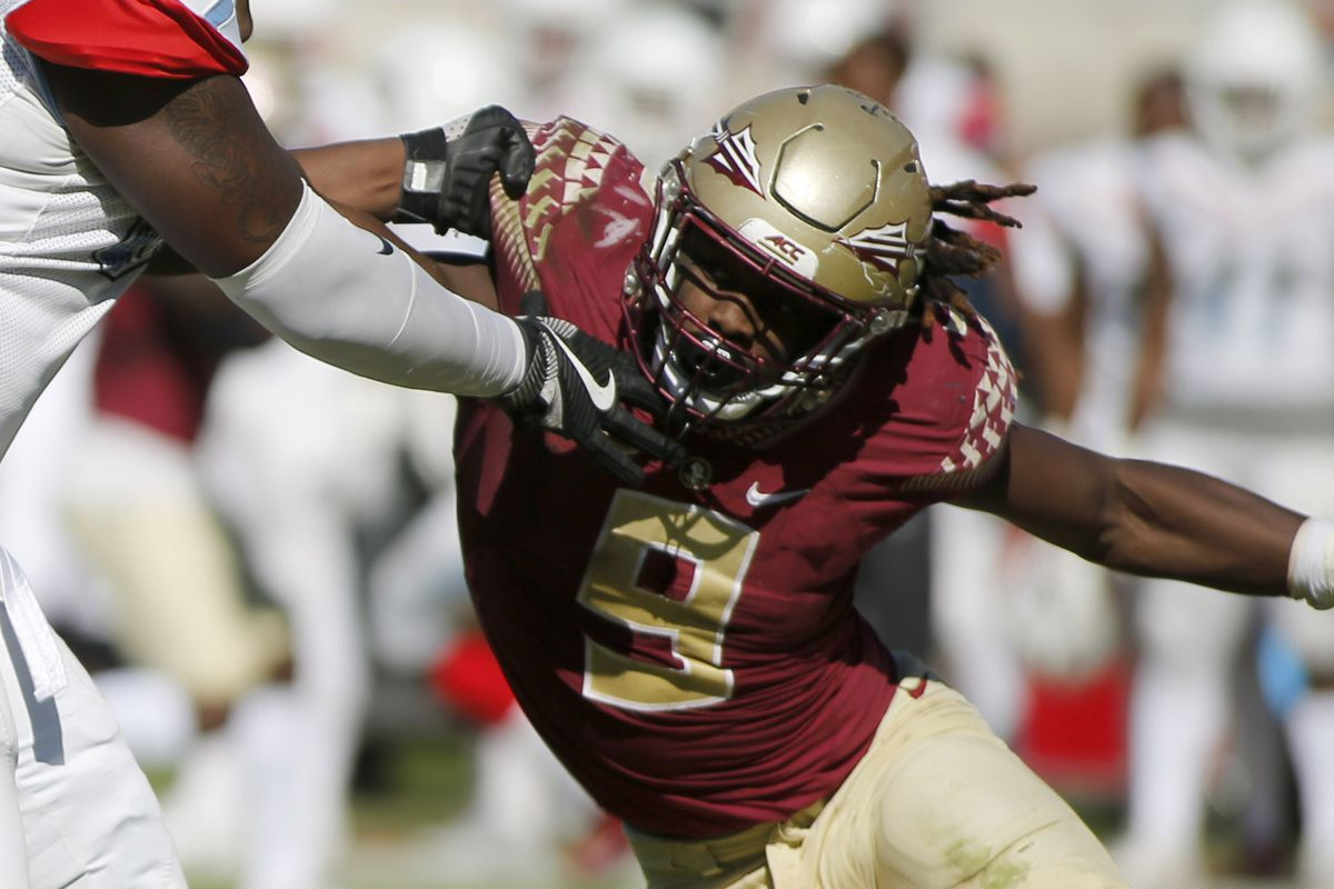 Draft Profile Florida State S Josh Sweat Would Add Athleticism To Patriots Defense Pats Pulpit
