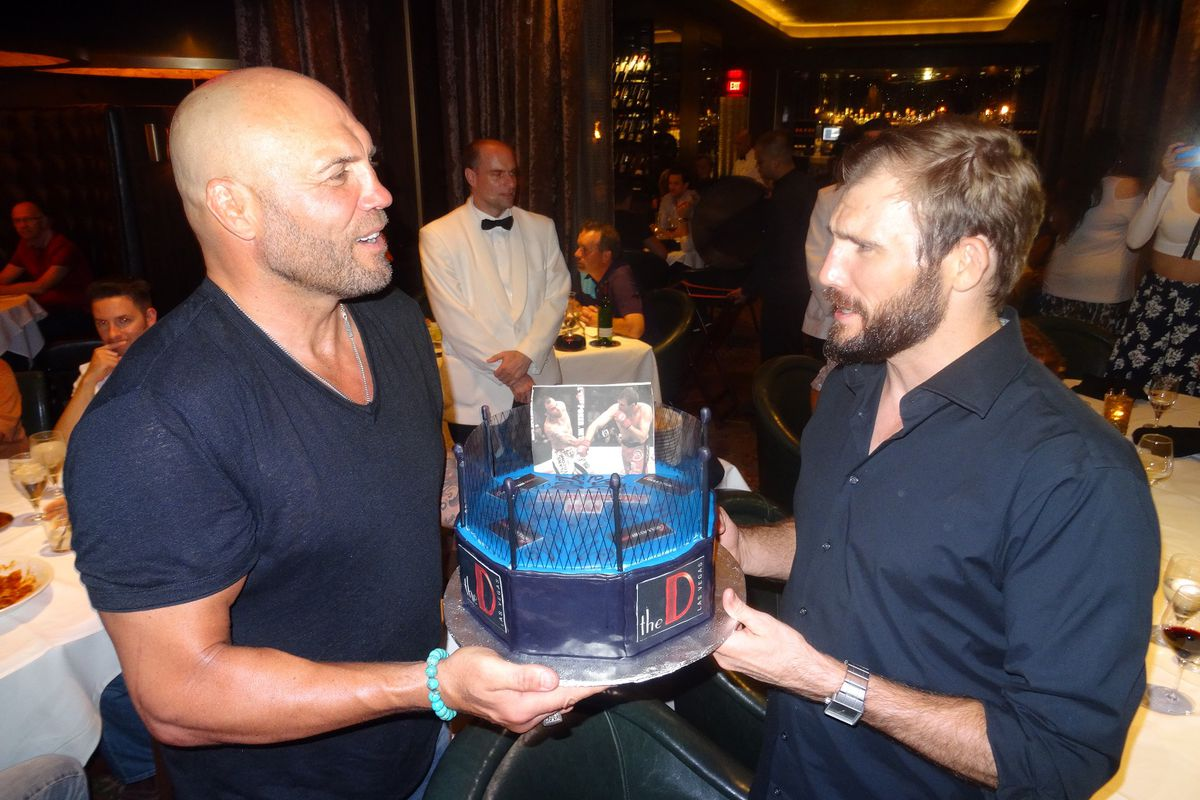 Randy Couture, left, and Ryan Couture