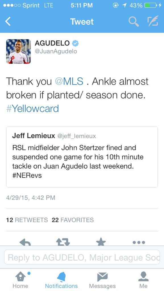 Juan Gudelo Tweet John Stertzer