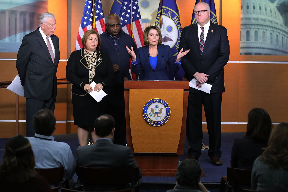 House Democrats Address The Media After Weekly Caucus Meeting