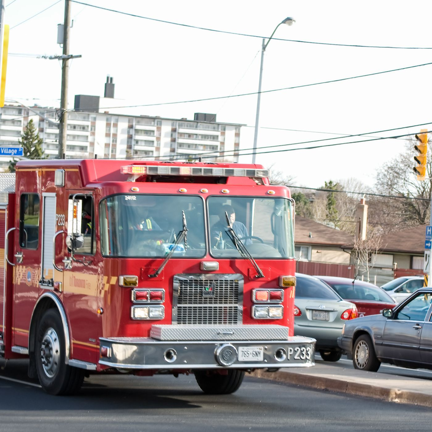 Firefighters do a lot less firefighting than they used to