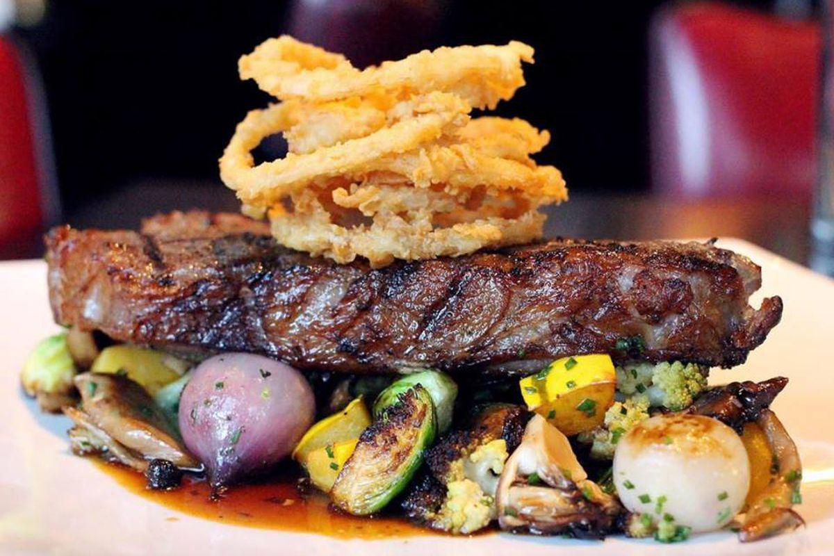 Steak at Boston Chops