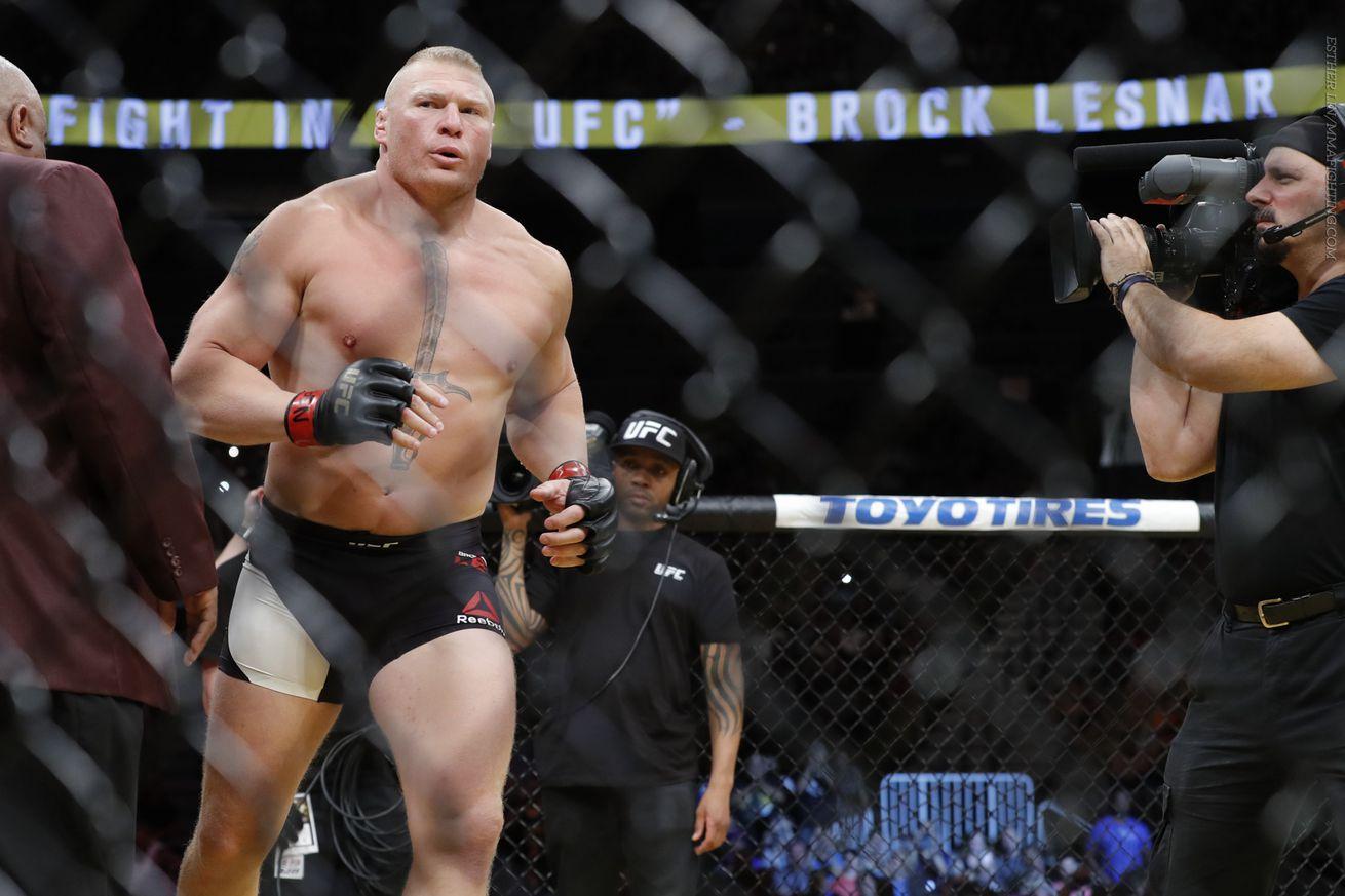 community news, UFC exec: Brock Lesnar has not re entered USADA drug testing pool, suspension still frozen