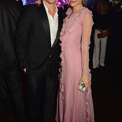 Oliver Cheshire and Pixie Lott at the Chopard Wild party.