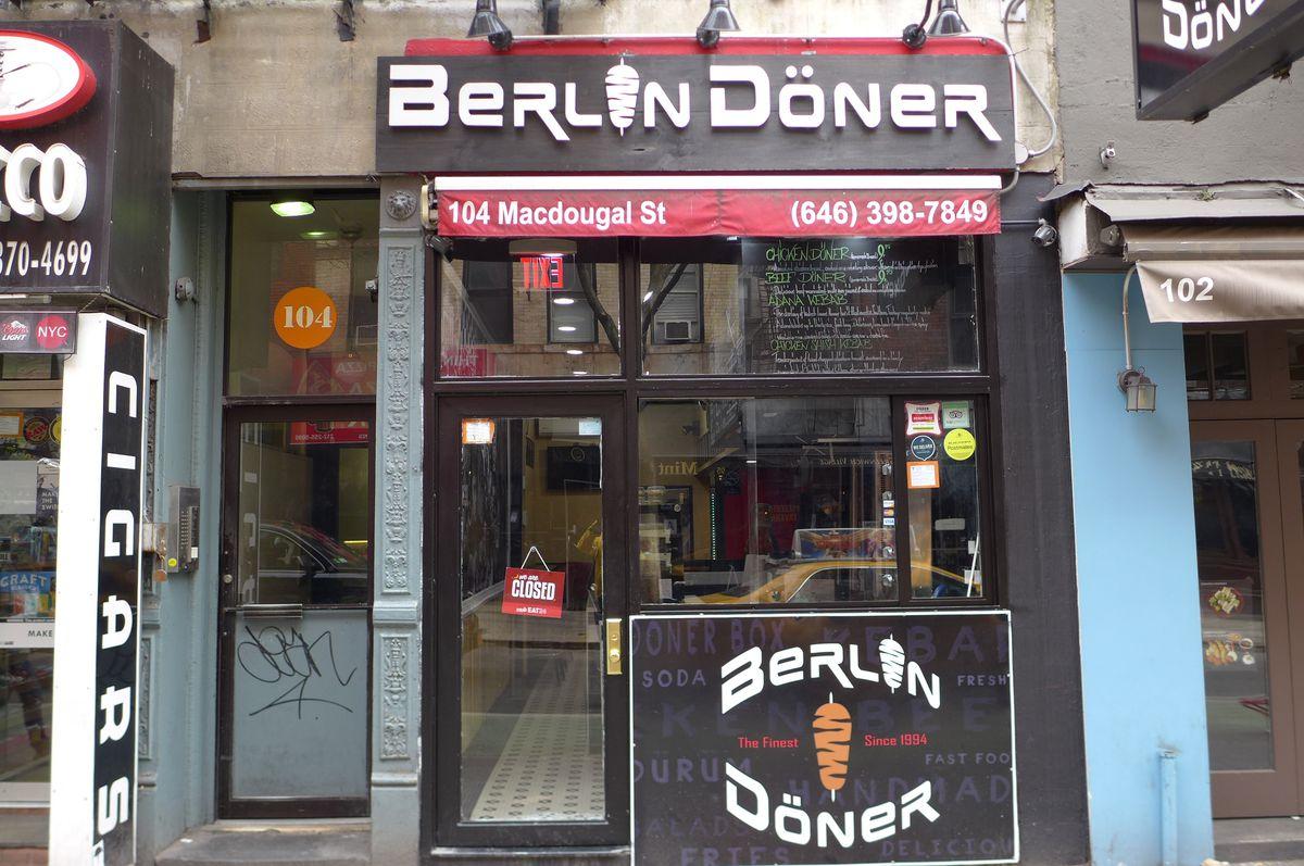 Berlin Doner, just south of NYU