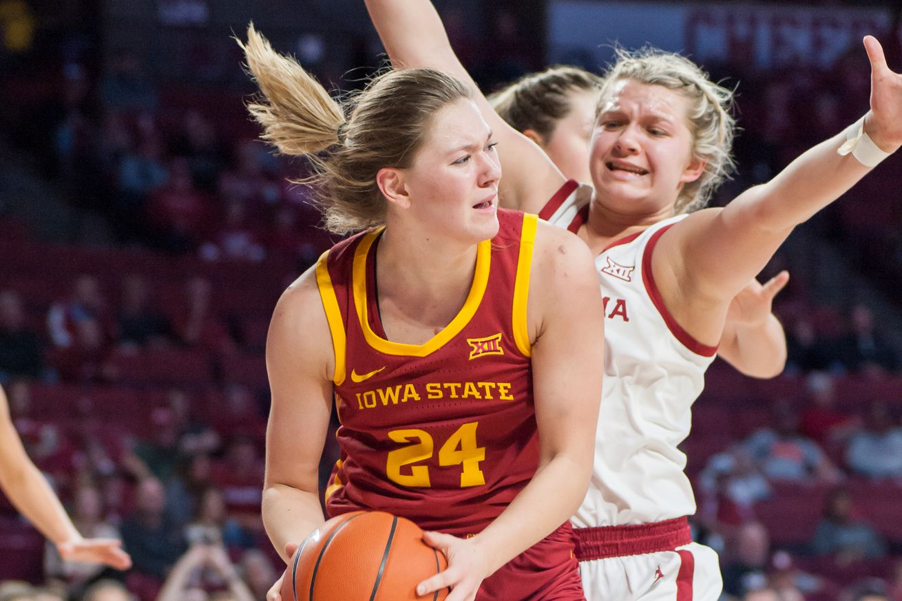 COLLEGE BASKETBALL: JAN 11 Women's Iowa State at Oklahoma