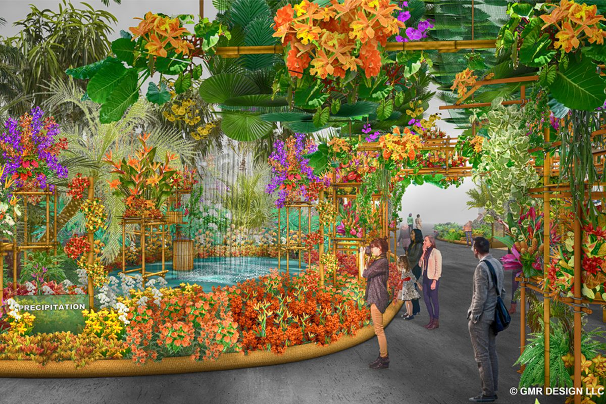 the 2018 philadelphia flower show: what to expect - curbed philly