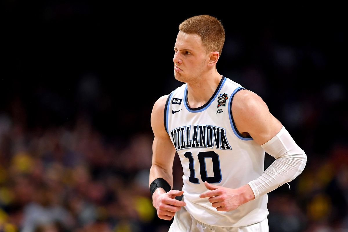 2578b277b8f Bob Donnan-USA TODAY Sports. Villanova wing Donte DiVincenzo didn't start  Monday's national championship game ...