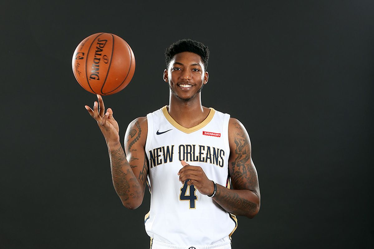 wholesale dealer d1ae0 eec86 Elfrid Payton Being a Perfect Pelican is the Perfect — Yet ...