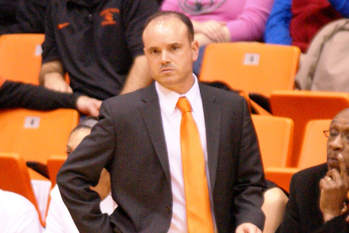 Losing starting point guard Sage Indendi made for a lost season for Oregon St. How did Coach Scott Rueck deal with what he saw, both now and for the future?