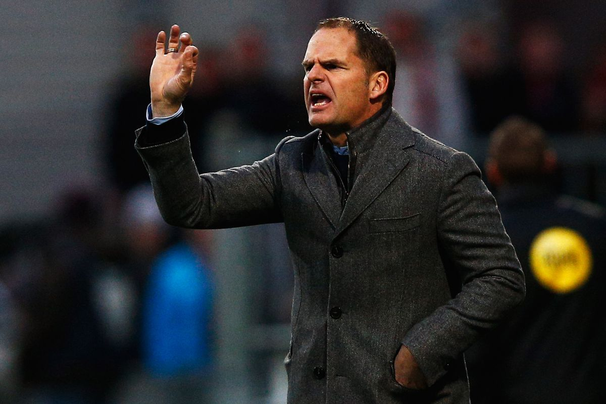 Contrary to popular belief, Frank de Boer wants the Liverpool job this much.