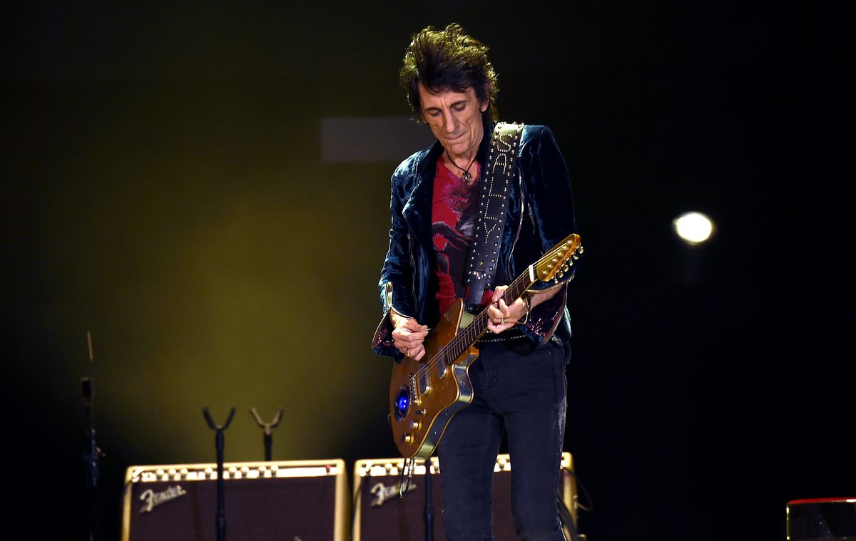 Ronnie Wood totally stoked for upcoming Rolling Stones No