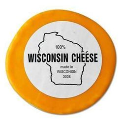 Wisconsin Cheddar is the February cheese