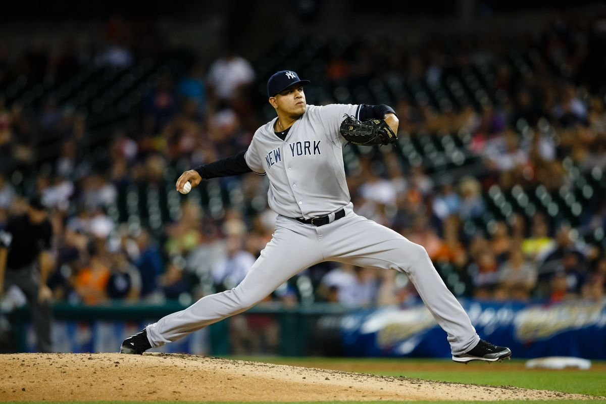 Dellin Betances of the Yankees