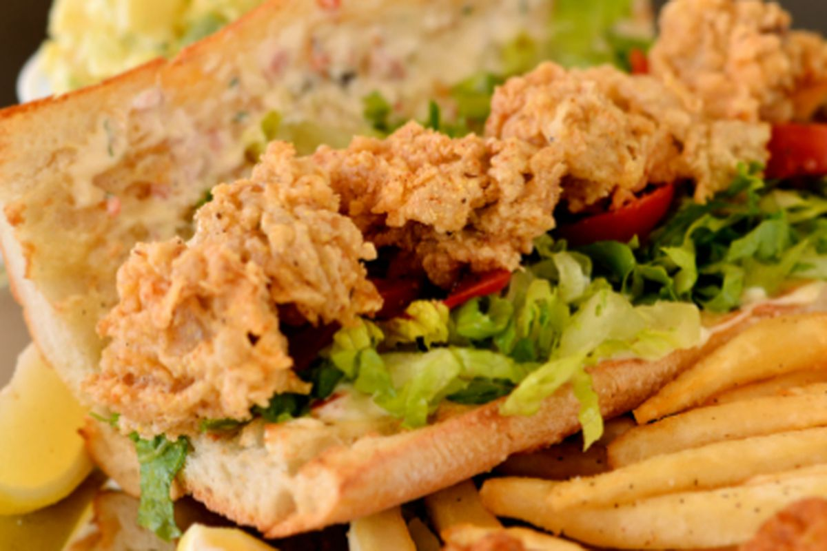 More po' boys is not a bad thing.