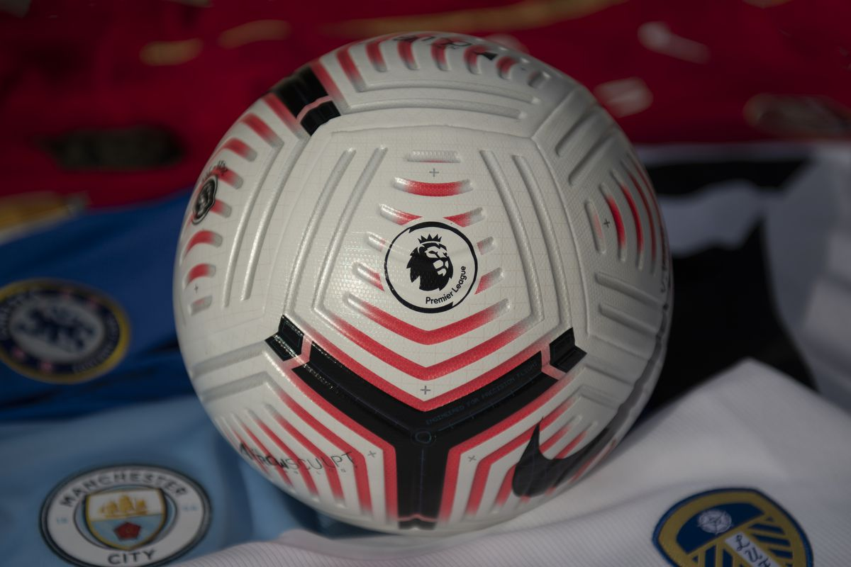 The Official Nike Premier League Match Ball with Club Shirts