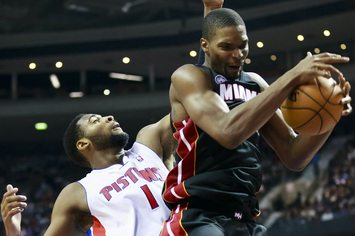 The Heat could use more of these from Chris Bosh.