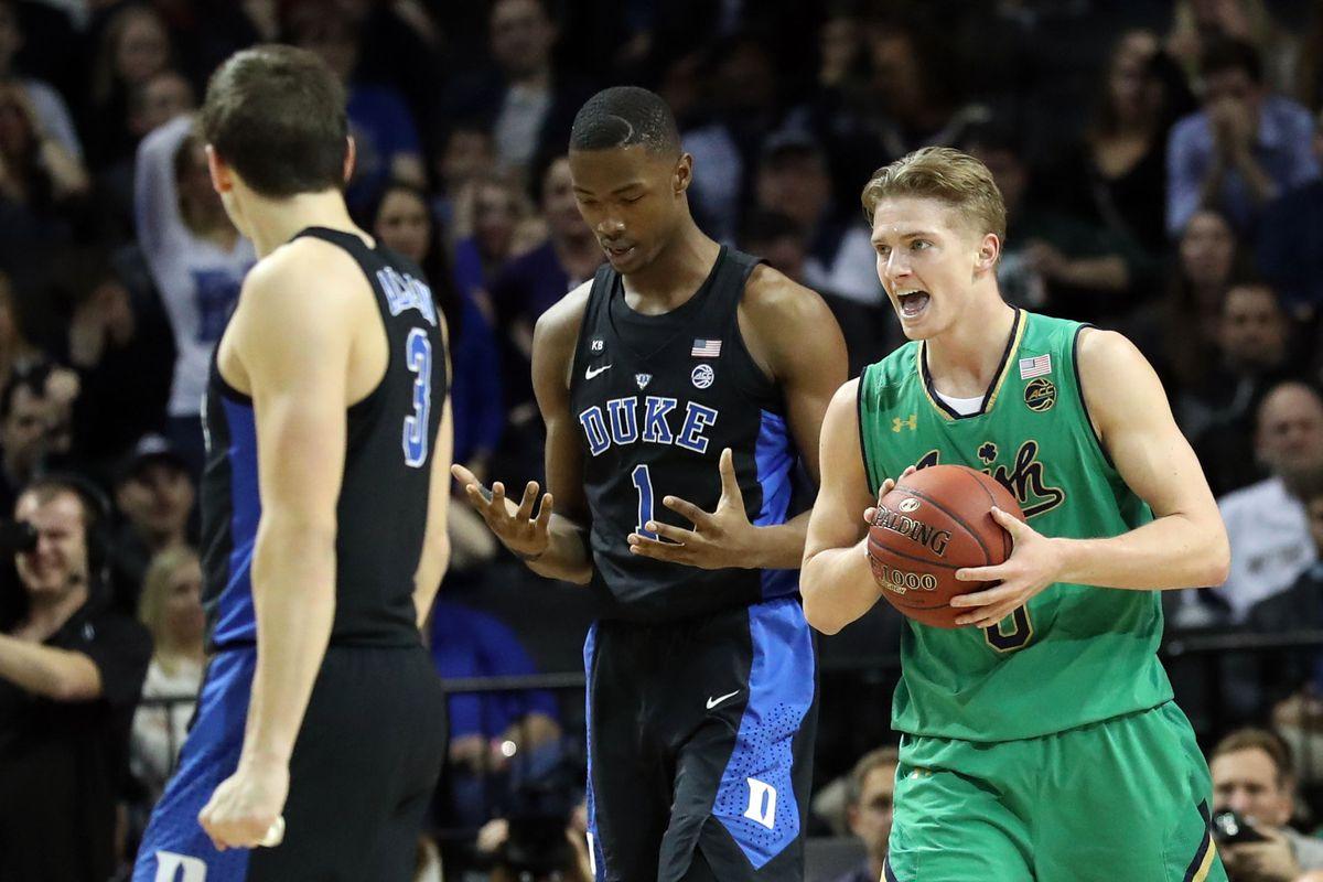 NCAA Basketball: ACC Conference Tournament Final-Notre Dame vs Duke